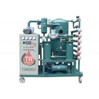 Wholesale High Vacuum Transformer Oil Filter Machine , Transformer Oil Dehydration Plant from china suppliers