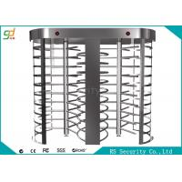 China Two Lanes Full Height Turnstiles With Biometric Fingerprint Gate on sale