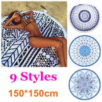 Wholesale Stock Round Beach Towel with tassel wholesale round beach towel custom design custom size from china suppliers
