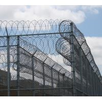Buy cheap Safety Galvanized Coiled Barbed Wire Razor Wire For Factories / Warehouses from Wholesalers