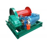 Wholesale Small Capacity Lifting Electric Motor Winch 1 Ton For Steel Factory Compact Structure from china suppliers