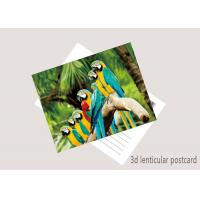 Wholesale Promotion Cartoon 3D Lenticular Postcard / Flip Lenticular Image Printing from china suppliers
