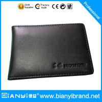 Wholesale Leather Credit Card Holder, ideal promotion item from china suppliers