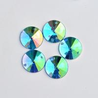 Wholesale Extremely Shiny Sew On Stones , 14  Facets Sew On Glass Rhinestones from china suppliers