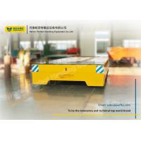 Quality Motorized Rail Cart / Die Transfer Car Electric Magnetic Brake For Shipbuilding for sale