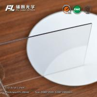 Wholesale 8mm Clear static dissipative acrylic Sheet Resistance To Chemical Solvents from china suppliers