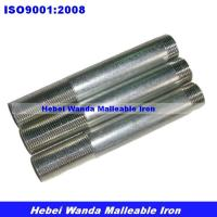 Buy cheap Galvanized steel long and short nipples from wholesalers