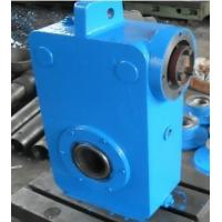 China Worm -Gear Speed Reducer , Helical Gear-Bevel Gear Decelerator on sale