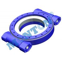 Wholesale High Precision Worm Drive Slew Ring Four Point Contact 9 Inch Outside Dia from china suppliers