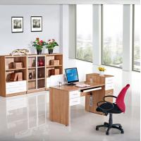 China Simple Home Essential Office Computer Desk With Drawers Size 1530*600D*950H Mm on sale