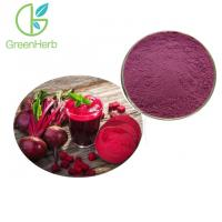 China Red 100% Pure Natural Food Pigments Beetroot Concentrate Juice Powder on sale