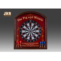 Wholesale Antique Wall Dart Board Wooden Wall Plaques Pub Signs Decorative MDF Wall Plaque Signs from china suppliers
