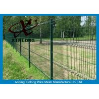 Wholesale Triangle Curved Green Metal Wire Mesh Fence Wire Diameter 5.0mm from china suppliers