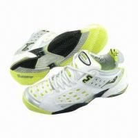 China 2013 Hot Men's Sports Shoes with Rubber Sole, PU + Mesh Upper, Best Mate for Athletes  on sale