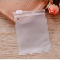 Wholesale Recyclable Cosmetic Clear Vinyl Zipper Pouch With Printing Eco Friendly from china suppliers