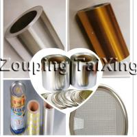 Wholesale heat seal lacquered  aluminium foil  90mic  for peelable off ends from china suppliers
