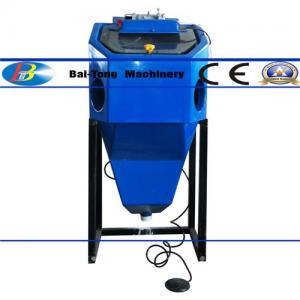 Mini Suction Type Wet Sandblasting Cabinet 450*450*400mm Work Cabinet