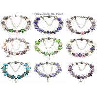 Buy cheap lampwork glass bead bracelet from Wholesalers
