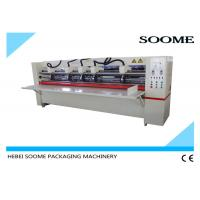 Wholesale Offline Electrical Thin Blade Slitter Scorer , Corrugated Cardboard Cutting Machine Precreaser from china suppliers