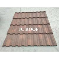 Wholesale Aluminium - Zinc Material 0.4mm Thickness Colorful Stone Coated Metal Roofing Tiles from china suppliers