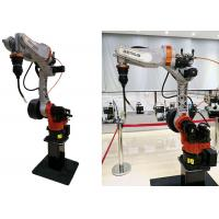 China Safe Robotic Welding Cells 6kg Effective Load Dust Proof Vertical Ground Installation on sale