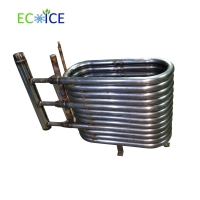 China Copper Tube Evaporator of Exchanger 10 Kw for Sea Water Cooler Evaporator on sale