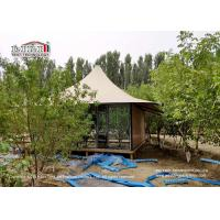 Wholesale Durable Luxury Glamping Tents Structures For Resorts 25 Years Life Span from china suppliers