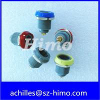 Equivalent to Lemo Series P 10 pin Plastic Substitute Connector , medical Socket PKG