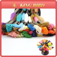 Wholesale Cotton mercerizing Machine Embroidery Threads for cross stitch from china suppliers