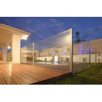 Buy cheap 10mm Swiming Pool Fencing Glass Heat Soaked Thermal stability from wholesalers