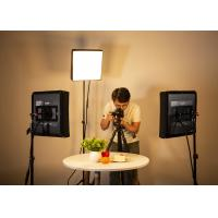 Buy cheap 50W Bi - Color Flaglite LED Studio Lighting Kit SMD LED Type High Brightness from wholesalers