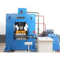 Wholesale Multi Directional 40 Ton Hydraulic Press , Steel Extrusion Press For TubeFitting from china suppliers