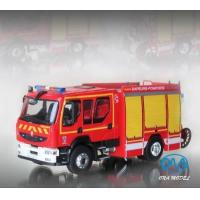 Wholesale 1:43 Renault fire engine model from china suppliers