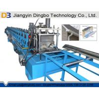 Wholesale Chain Transmission 1.2mm Rain Gutter Machine For Half Round Or K Type from china suppliers
