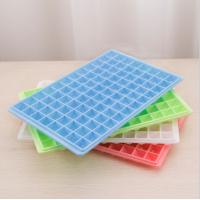 Wholesale Square Plastic Ice Cube Tray Grid Mold Ice-making Box Maker Ice mold from china suppliers