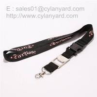 Wholesale Functional metal beer bottle opener lanyards, imprint lanyard with metal bottle opener, from china suppliers