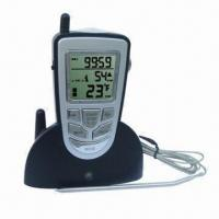Wholesale Wireless Digital BBQ/Cooking Thermometer with Working Distance of 25m from china suppliers
