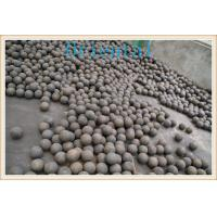 Wholesale Ball Mill Steel Balls , Grinding Media Ball For Iron / Copper Ore Industry from china suppliers