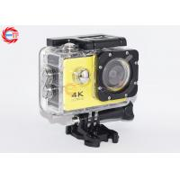 Quality OEM Yellow Camera Sports HD DV Wifi Underwater Diving With 1 Year Warranty for sale