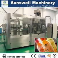Wholesale Automatic Fresh Fruit Juice Hot Filling Machine For Washing Filling And Capping from china suppliers