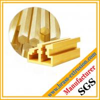 copper alloy brass extrusions profiles for window and door