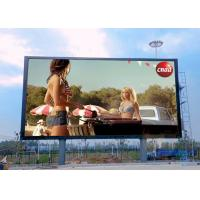 SMD3535 3 In 1 Full Color Outdoor Advertising LED Display P8 1920Hz Refresh Rate