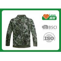 100% Polyester Breathable Outdoor Softshell Jacket With ISO9001 Certificate