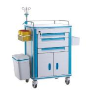 Wholesale ABS Medical Trolley Anesthesia Trolley Cart for Hospital Emergency Hospital Trolley from china suppliers