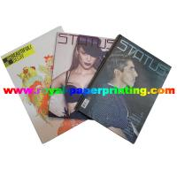 customize fashion period /monthly magazine printing