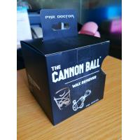 Wholesale Printing Flat Black Cannon Ball Custom Paper Box Packaging For Childrens Ball from china suppliers