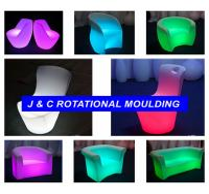 rotational molding led furniture
