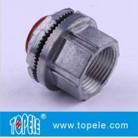 "Wholesale 1/2"" to 4"" Insulated Zinc Die Cast Threaded Rigid Watertight Hub Connector IMC Conduit And Fittings from china suppliers"