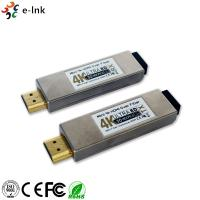Wholesale 4K*2K 3D Mini HDMI Over Fiber Optic Extender 850nm Wavelength Support HDCP from china suppliers