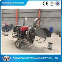 Wholesale CE Approved Small Output Mobile Diesel Engine Wood Disc Chipper in Forest from china suppliers
